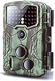 Cámara de vida silvestre 1080P 16MP 0.2s Trigger Hunting Cams con visión nocturna infrarroja hasta 59 pies IP54 Cámara de trampa de caza impermeable con lente gran angular de 120 °