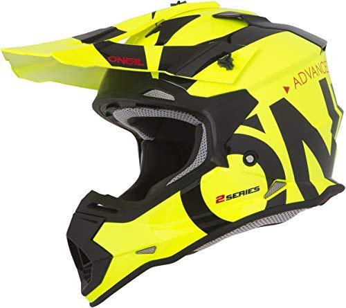 O'NEAL 2 Series Slick Motocross Enduro MTB Helm gelb/schwarz 2020 Oneal: Größe: M (57-58cm)