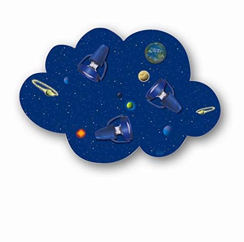 Waldi Leuchten Wolkenlampe Wolke Weltall Strahler Dunkelblau | 40W | 65293.0