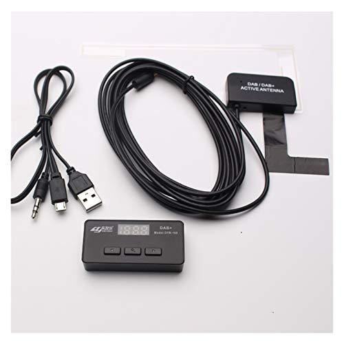 Iinger DTR-168 Antena Dab Antena Adaptador USB Ajuste para EL Coche DE...