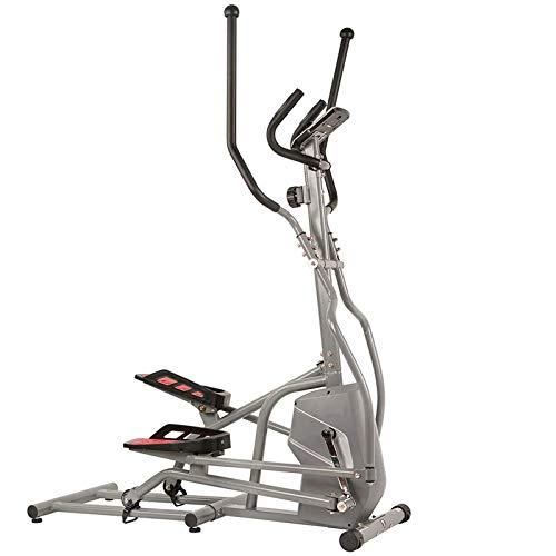 UIZSDIUZ Máquina elíptica Inicio Fitness Instrumento Elíptico Acerca de Espacio Twalk Interior Calma Equipos de Fitness para Perder Peso