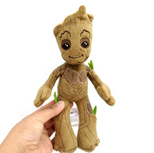 Xin Yao Store Peluches Origina Guardianes De La Galaxia Mini Baby Figura De Acción Groot Peluches Little Tree Man Doll Muppet Toy Dolls 22 Cm