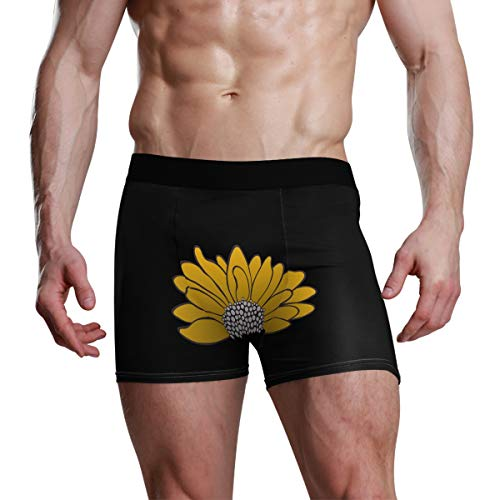XiangHeFu Herren Boxershorts Little Flower Night Stretch Atmungsaktive Unterhose