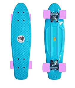 DINBIN Complete Highly Flexible Plastic Cruiser Board Mini 22 Inch Skateboards