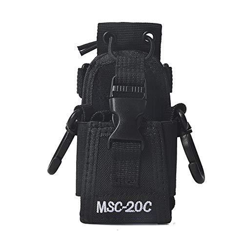 HYS MSC-20C Verstellbare Multifunktionstasche für Kenwood Yaesu Icom Motorola Baofeng UV5R UV82 TYT UV5RA HYT 888S Walkie Talkie Holster