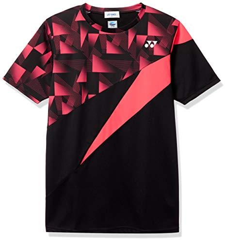 [ヨネックス] 半袖シャツ UNIゲームシャツ メンズ ブラック (007) 日本 M (日本サイズM相当)