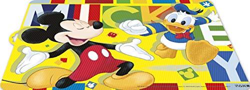 2012 Disney Mickey Mouse aquarellen tafelkleed; plastic product; BPA vrij; afmetingen 43x29 cm