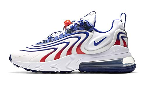 Nike Air Max 270 React ENG Men's Shoe DA1512-100 White/Concord-Ember Glow (41)