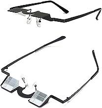 JYKOO Reading Glasses Diopter Refraction Mirror Myopia Reading Glasses Prism Lazy Reading Glasses to Prevent Cervical Spondylosis