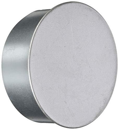 FIREFIX A130/K FAL Ofenrohrkapsel/Wandfutterdeckel, ø 130 mm - für 0,6 mm Starke Ofenrohre, Silber