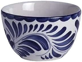 Anfora A120P079 Puebla Blue 9 Oz. Sugar/Bouillon Bowl - 24 / CS