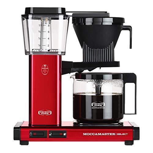 Moccamaster Filter Kaffeemaschine KBG Select, 1.25 Liter, 1520 W, Red Metallic