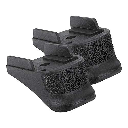 Aecktech Grips, 2 Pieces Extension Fits SIG Sauer P365 Black