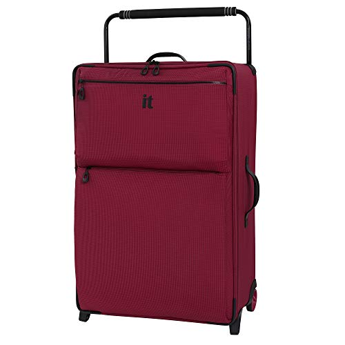 IT Luggage 32.7' World's Lightest Los Angeles 2 Wheel, Persian Red, One Size