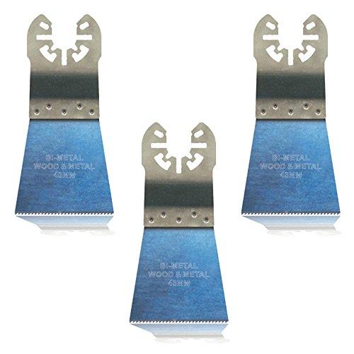 3x Hoja de sierra universal, 45mm BIM para Makita BTM50