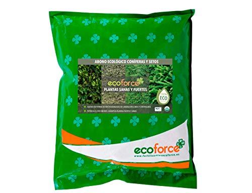 CULTIVERS ECO10F00130 Abono Ecológico de 5 Kg Coníferas y Setos (Pinos, Abetos,...