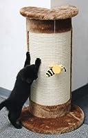 ドイツKerbl 爪とぎキャットタワー コーナースクラッチポールキャットツリー CORNER 蜂さん付き【コーナータイプ】