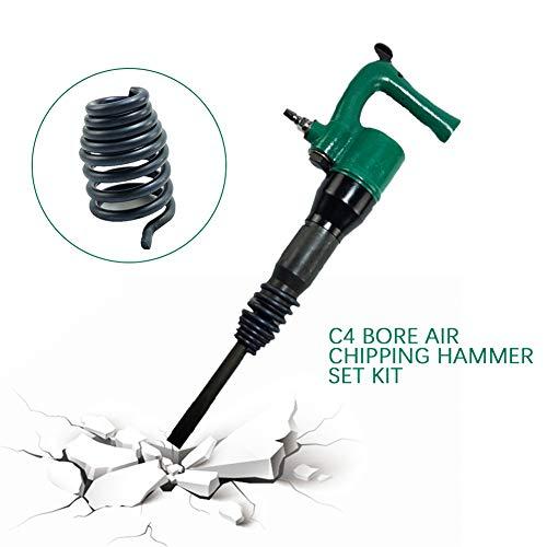 Pneumatic Hammer TBVECHI C4 Bore Powerful Diameter Pneumatic Shovel Air Chipping Hammer Set Kit
