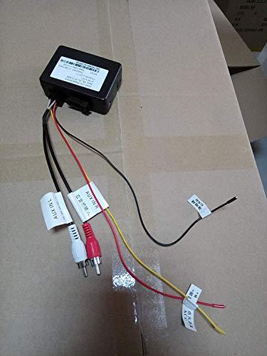 hizpo Fiber Optic Box Adapter for hizpo Benz/Cayenne Stereo …