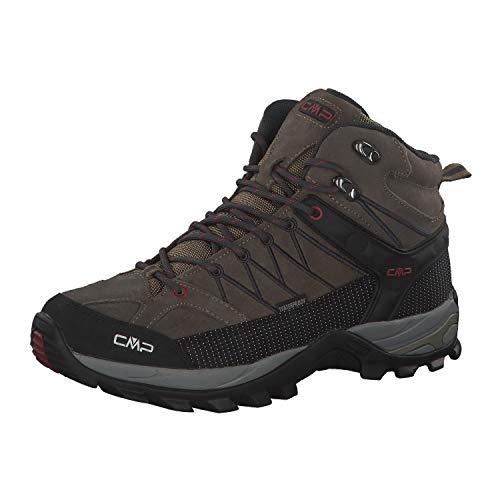 CMP Herren Rigel Mid Shoe Wp Trekking-& Wanderstiefel, Beige (Torba-Antracite 02pd), 45 EU