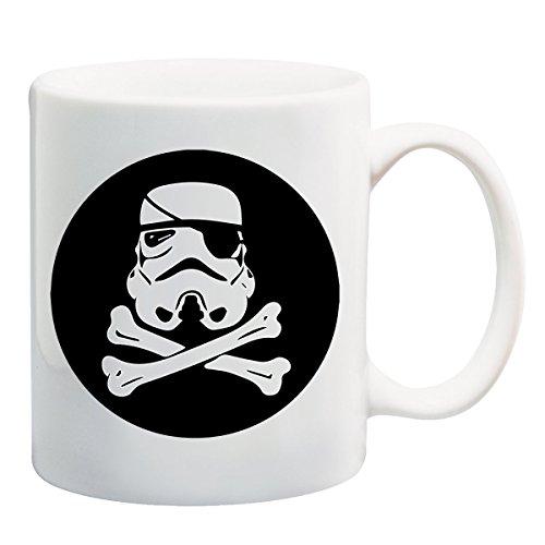 Darth Vader helm Pirate Star WarsT-shirt mok