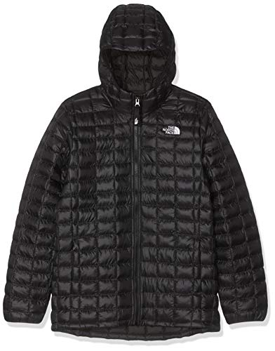 THE NORTH FACE Unisex Kinder Thermoball Eco Hoodie isoliert Synthetik S TNF Schwarz
