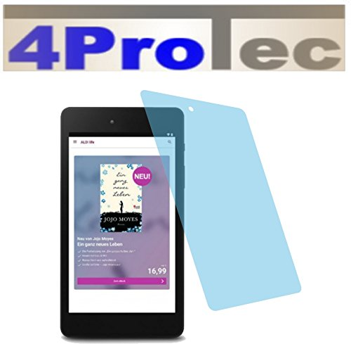 4ProTec I 4X ANTIREFLEX matt Schutzfolie für Medion LifeTab E6912 E-Tab Premium Bildschirmschutzfolie Displayschutzfolie Schutzhülle Bildschirmschutz Bildschirmfolie Folie