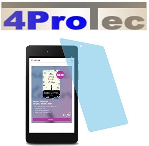 4ProTec I 2X ANTIREFLEX matt Schutzfolie für Medion LifeTab E6912 E-Tab Premium Bildschirmschutzfolie Displayschutzfolie Schutzhülle Bildschirmschutz Bildschirmfolie Folie