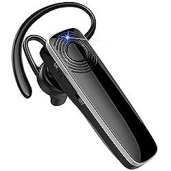 【Son haute fidélité et réduction du bruit】 Le casque sans fil Bee utilise la technologie CVC6.0 pour réduire efficacement le bruit ambiant et améliorer la qualité sonore. Vous obtenez ainsi un son stéréo de qualité supérieure. Vous pouvez profiter de...
