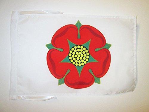 AZ FLAG Flagge GRAFSCHAFT Lancashire ALT 45x30cm mit Kordel - Lancashire Fahne 30 x 45 cm - flaggen Top Qualität