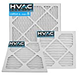 14' x 20' Pleated MERV 8 Allergen Filter for HVAC Return Filter Grille [Actual Dimensions: 13.75' X 19.75']