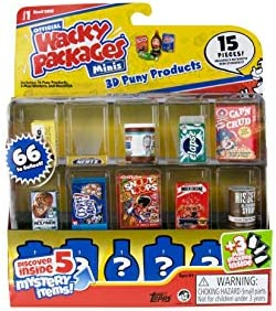 Wacky Packages Minis Series 1 20 Piece Set