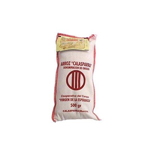 Brindisa Calasparra Paella Reis, Baumwolle Sack 500 g (2 Stück)