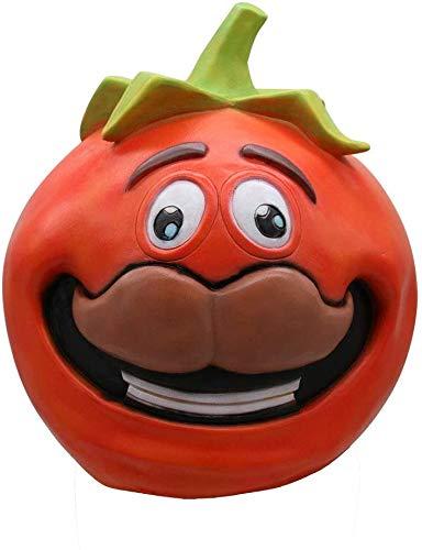 HWXDH Maske-Cosplay Lustige Tomaten Maske Schmelzen Gesicht Latex Kostüm Halloween Scary Maske Spielzeug Halloween Dekoration Party, A,A