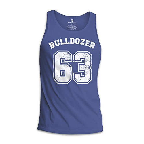 Bud Spencer® Herren Bulldozer 63 Tanktop/Muscle Shirt (blau) (XL)