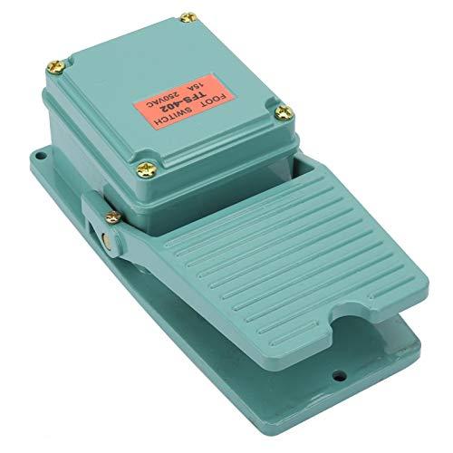 Interruptor de pie, interruptor de pedal de CA 250V 15A, interruptor de pedal para el hogar