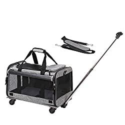best top rated pet carrier wheels 2021 in usa