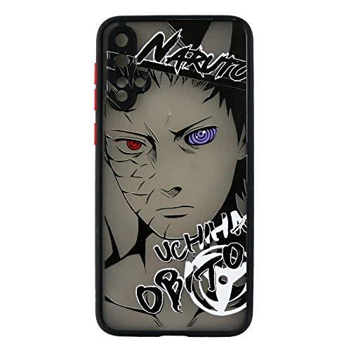 Anime - Carcasa para iPhone 11 Pro MAX XR XS MAX X 7 8 6 6S Plus SE 2020 de Cristal Templado Coque Capa -Photo_Color_7plus/8plus