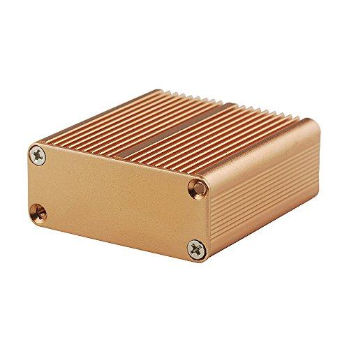 Eightwood アルミエンクロージャ 電子アンプ プロジェクトボックス PCB回路基板ケースDIY用 1.77インチX1.77インチX0.73インチ (LWH)