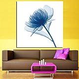 WSWWYAquarell Moderne Hauptdekoration Leinwand Ölgemälde transparente Blume Leinwand Gemälde...