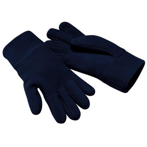 Beechfield Unisex Winter Handschuhe Alpine Suprafleece™ Anti-Pilling (Small) (Marineblau)