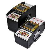 FAMKIT Automatic Poker Card Shuffler, Battery Operated Card...