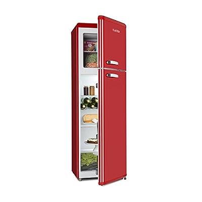 Klarstein Audrey Retro • Retro Refrigerator-Freezer Combination