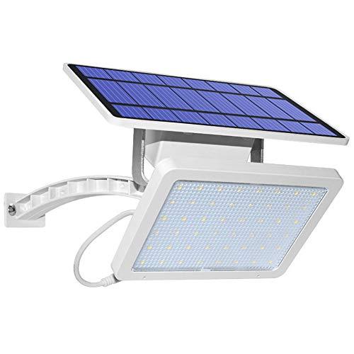 NBLYW zonnelicht met 48 leds voor buiten, met 3 m verlengkabel, 180 ° groothoek, waterdicht IP65, verstelbare lichten voor toegangsdeur, binnenplaats, garage, terras
