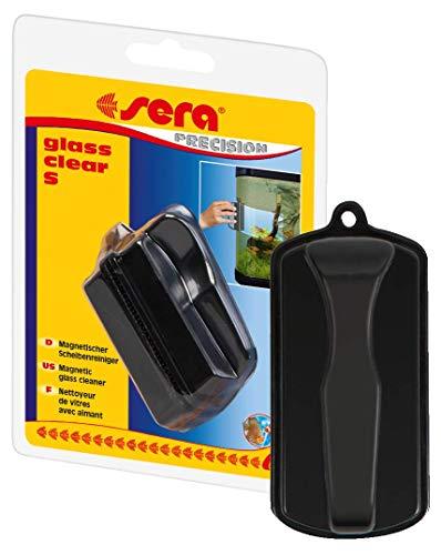 Sera Glass Clear - Imán para algas para acuario en diferentes tamaños como limpiacristales o imán de limpieza de vidrios