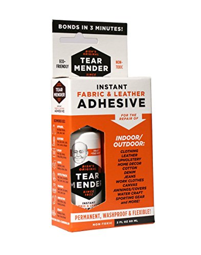 Instant Fabric and Leather Adhesive, 2 oz Bottle-Carded - 1