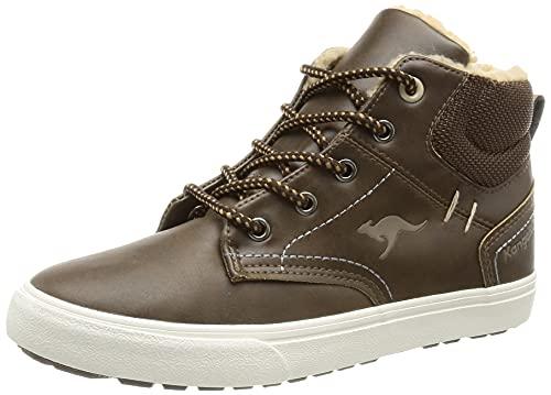 KangaROOS KAVU X Sneaker, dk Brown/Sand, 30 EU