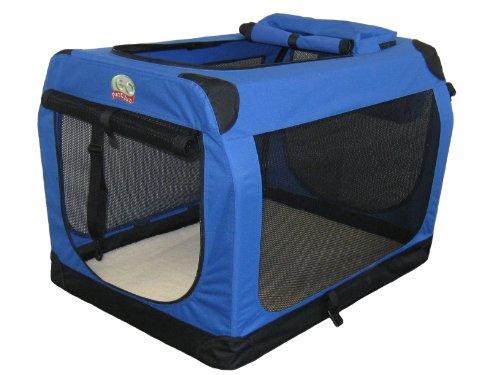 Go Pet Club AC48 Soft Dog Crate, Blue - 48 inches L X 32 inches W X 32 inches H