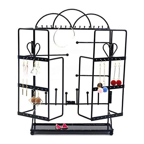 Yarmy Ketting Stand Deur frame creatieve smeedijzeren sieraden stand Oorbel stand Ketting sieraden prop display stand