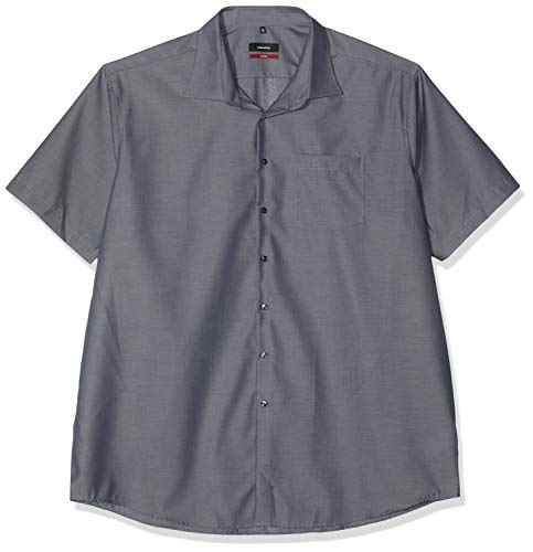 Seidensticker Herren Business und Freizeit Hemd Modern Fit, Grau (Grau 67), 45 (Herstellergröße: XX-Large)
